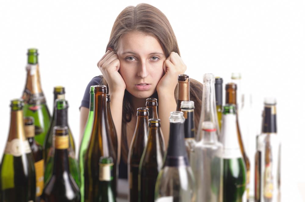 Алкоголь и женская развязная сексуальность